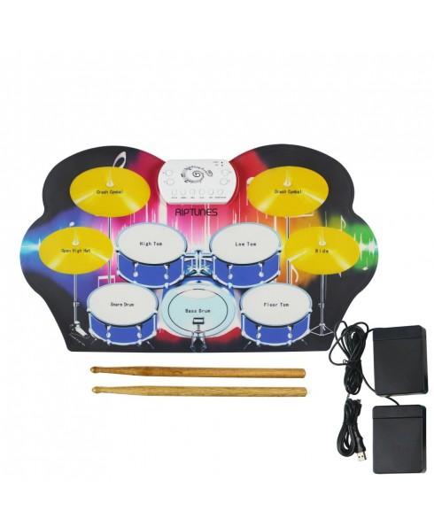 Riptunes ERD-902 Roll It Up Electric Drum Kit