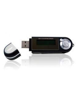 Riptunes MP1202 2GB MP3 Player with Digital Voice Recorder BLACK