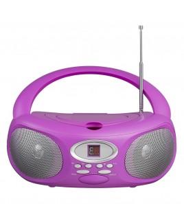 Riptunes AM/FM CD Boombox - Pink