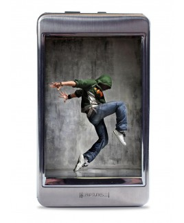 8GB 2.8-inch Touch Screen MP3 and Video Player - Silver