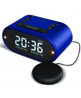 Riptunes Vibrating Alarm Clock - Blue