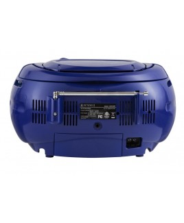 Riptunes Bluetooth AM/FM CD BoomBox - Blue