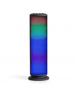 Riptunes Bluetooth Mini Tower Speaker with LED Lights